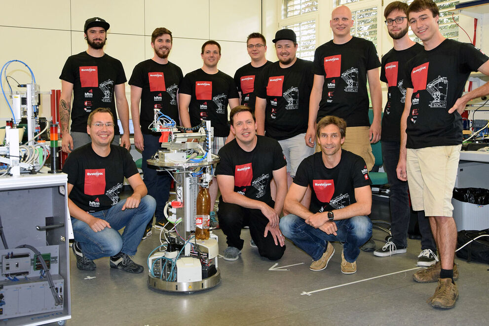 RoboCup 2018: Robotics team among the top 5