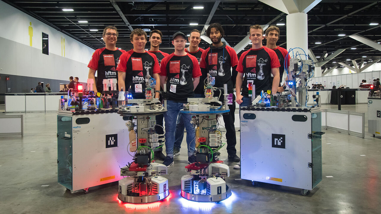 RoboCup 2019: hftm.team.solidus wins high placement at the World Championship