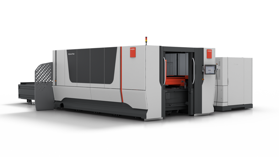 Versatile performance package: The new BySmart Fiber enables the fast access to fiber laser cutting.